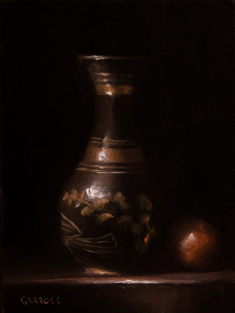 """Vase"" original fine art by Neil Carroll"
