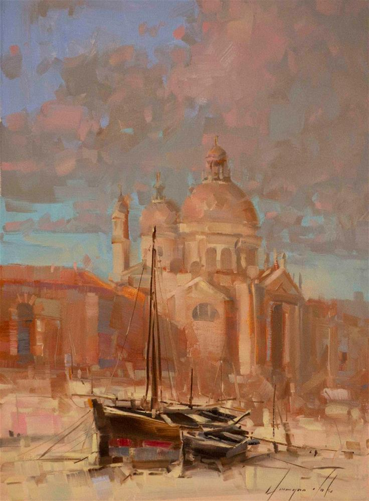 """Venice"" original fine art by V Yeremyan"