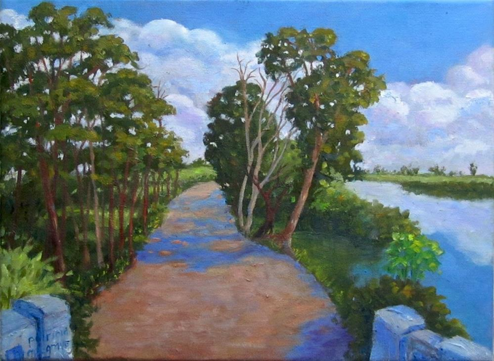 """""""A Perfect Day"""" original fine art by Patricia Musgrave"""