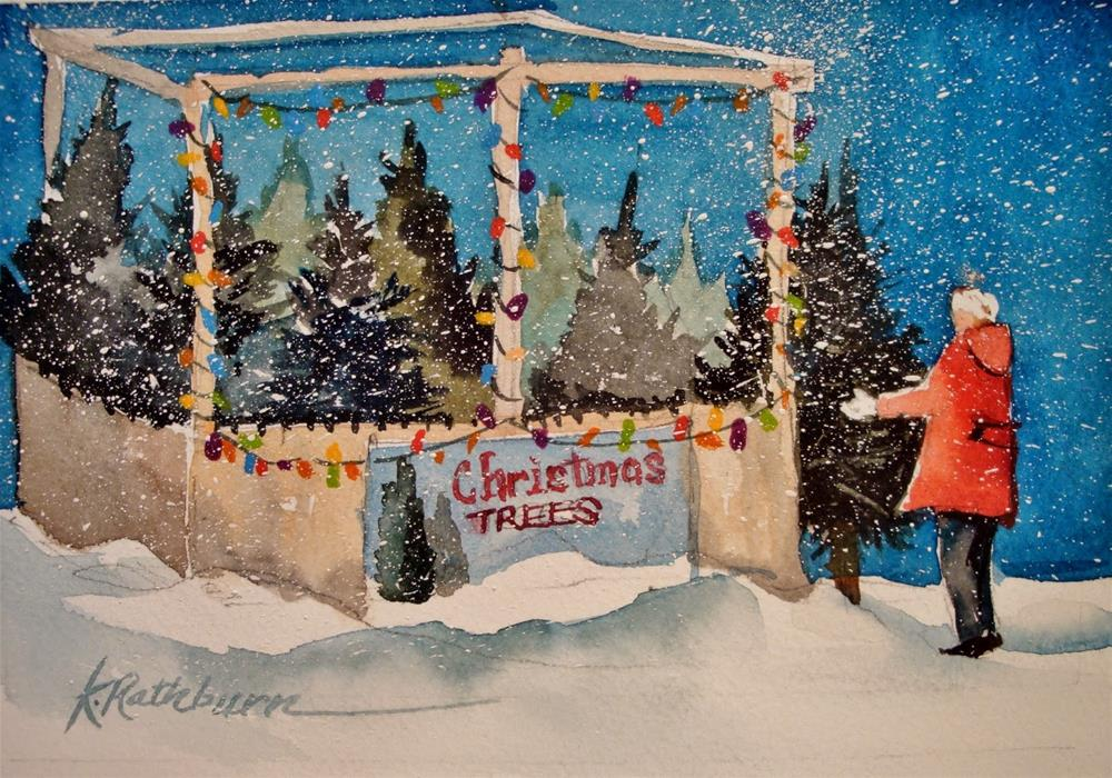 """Christmas Cheer VI"" original fine art by Kathy Los-Rathburn"