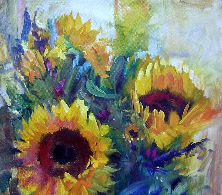 """Splash Out"" original fine art by Mary Maxam"