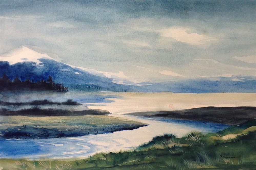 """Peaceful"" original fine art by Eileen Hennemann"