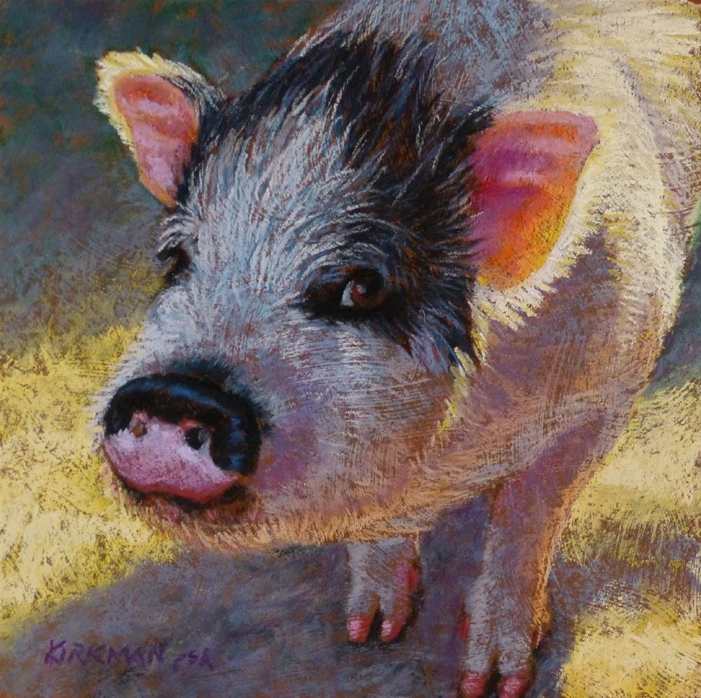 """Pinky - original pastel painting by Rita Kirkman"" original fine art by Rita Kirkman"