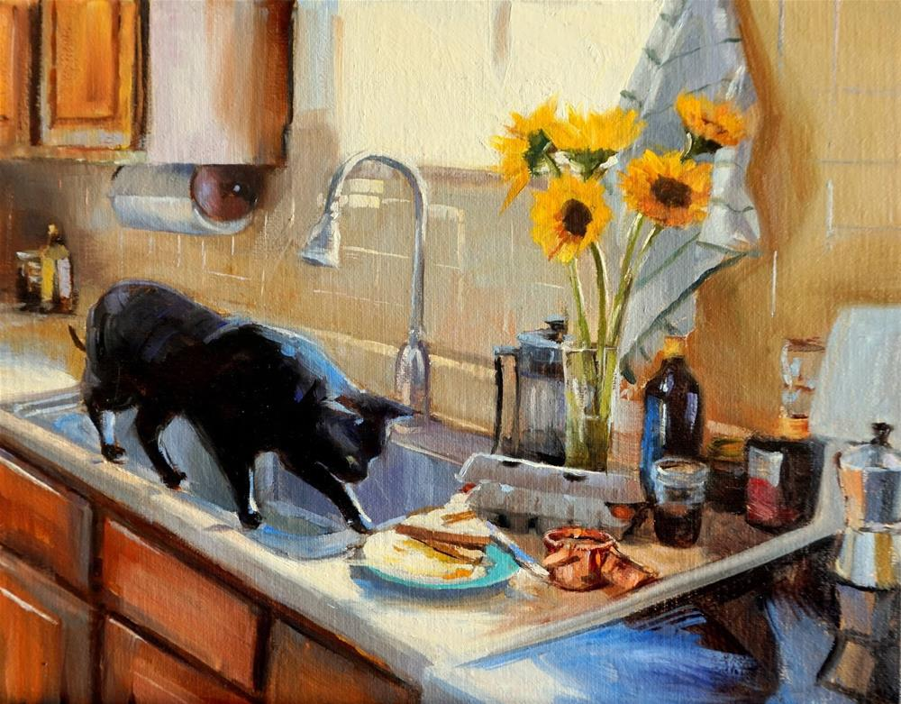 """Breakfast"" original fine art by Jonelle Summerfield"