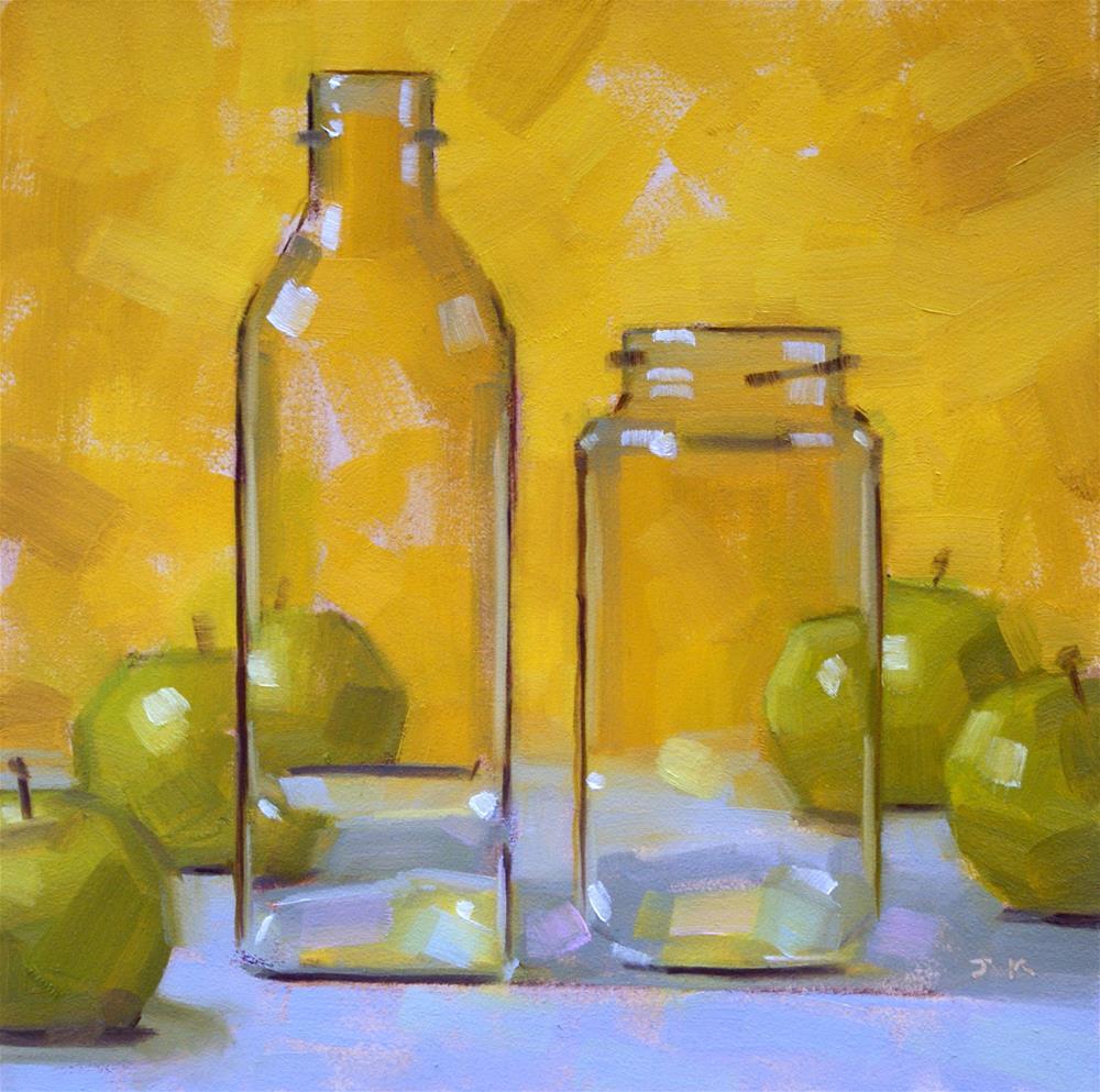 """Balanced"" original fine art by Jiyoung Kim"