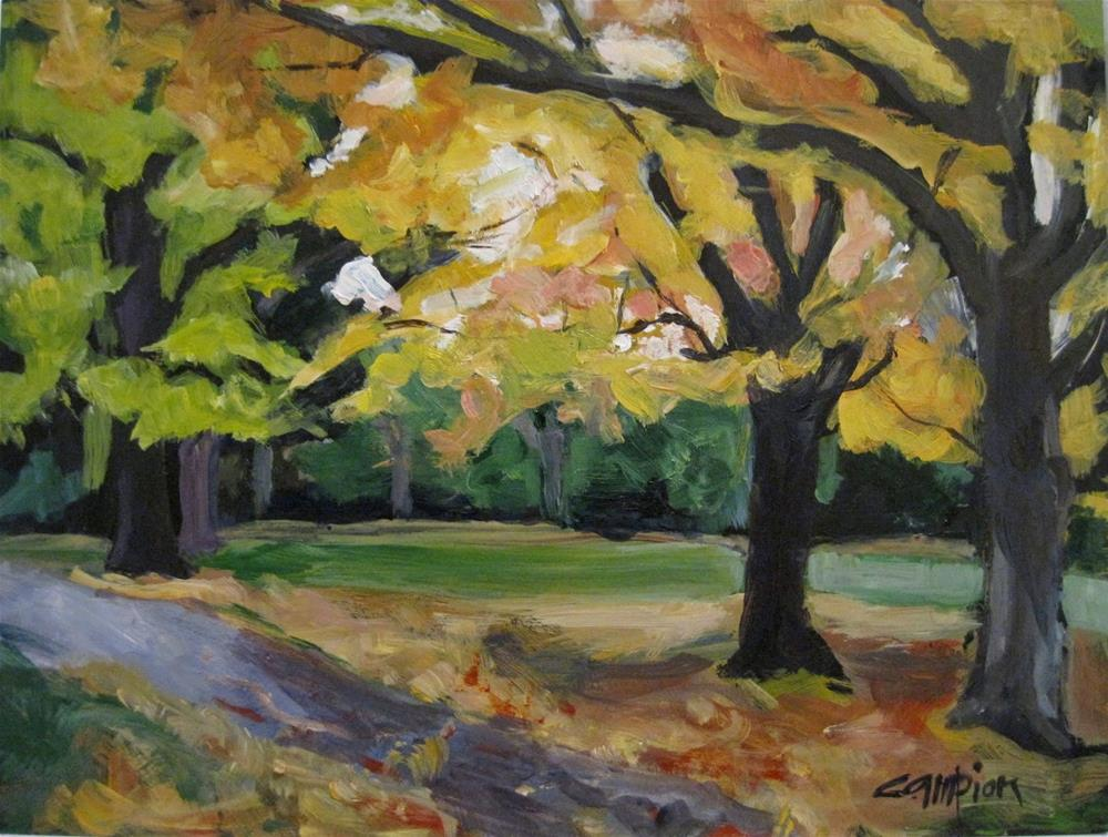 """494 Path to Palisades"" original fine art by Diane Campion"