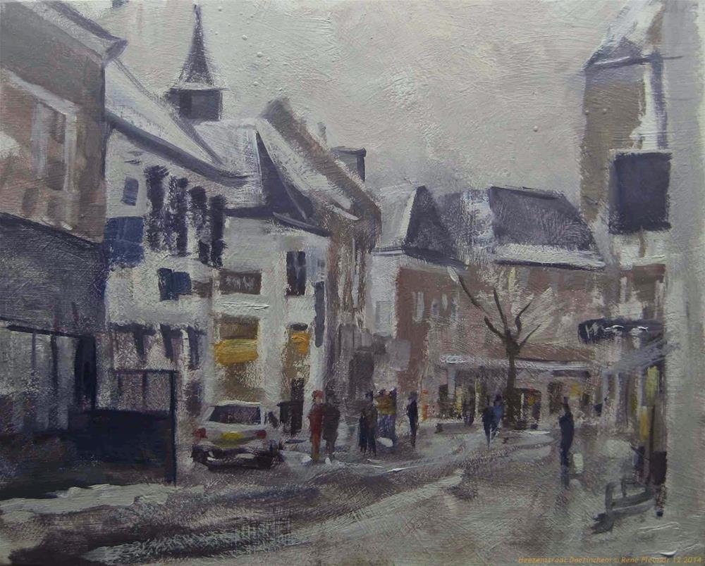 """Heezenstraat Doetinchem, The Netherlands."" original fine art by René PleinAir"