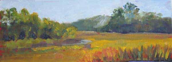 """James Island Morning"" original fine art by Lucinda Howe"