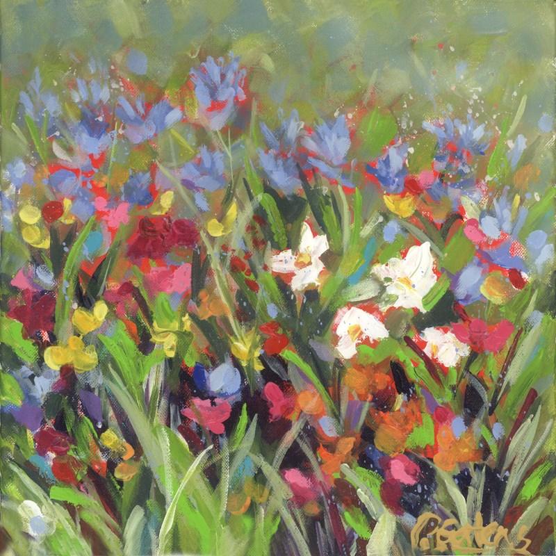 """West Virginia Wildflowers"" original fine art by Pamela Gatens"