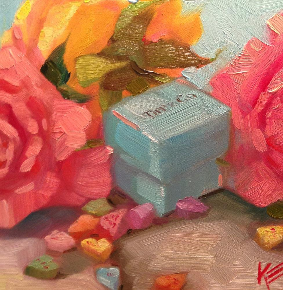 """my funny valentine"" original fine art by Krista Eaton"
