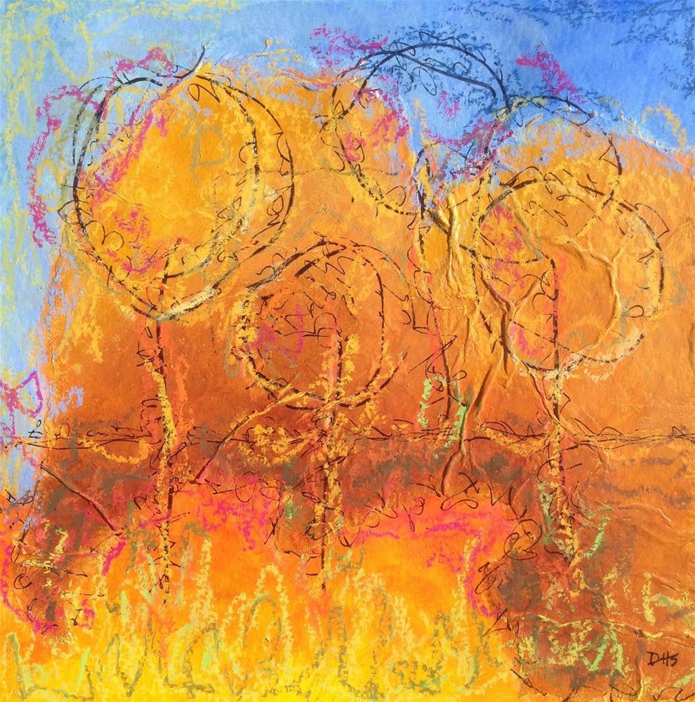 """""""Spark Plugs"""" original fine art by Dotty  Seiter"""