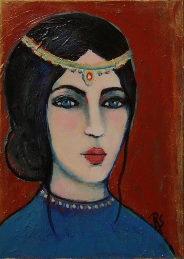 """Aurelia"" original fine art by Roberta Schmidt"
