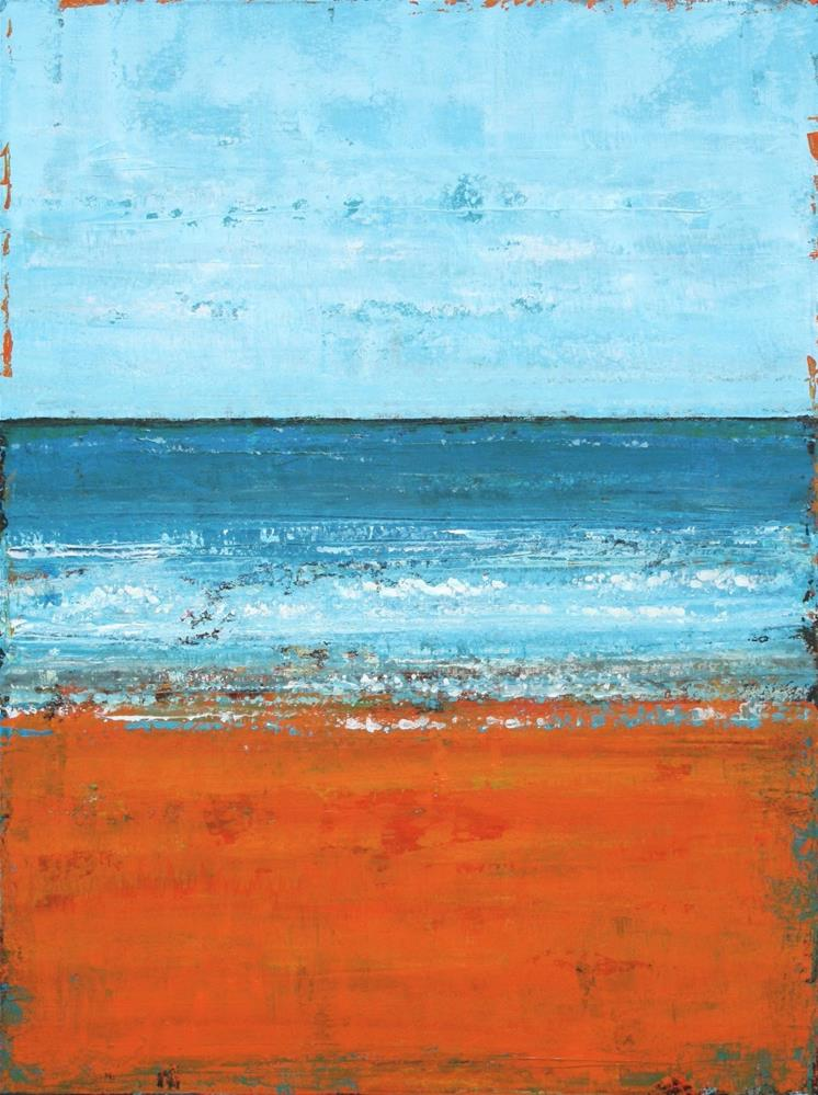 """""""A Day by the Ocean"""" original fine art by Sage Mountain"""