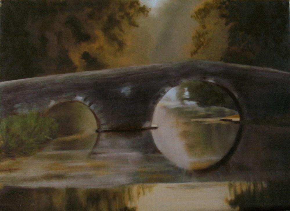 """""""Zen"""" original fine art by Lynn Darby"""