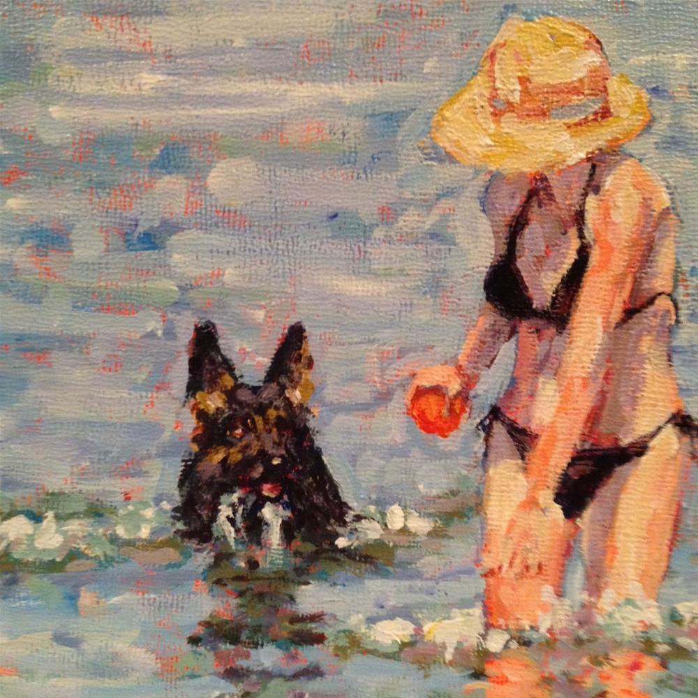 """""""Tao"""" original fine art by Shelley Garries"""
