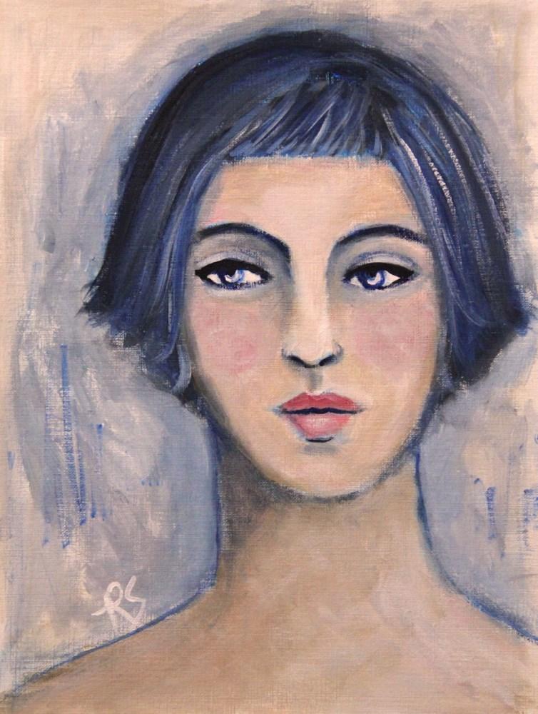 """""""Alexis"""" original fine art by Roberta Schmidt"""