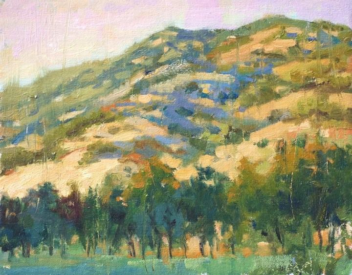 """Golden Hour of NoCal"" original fine art by Emiliya Lane"