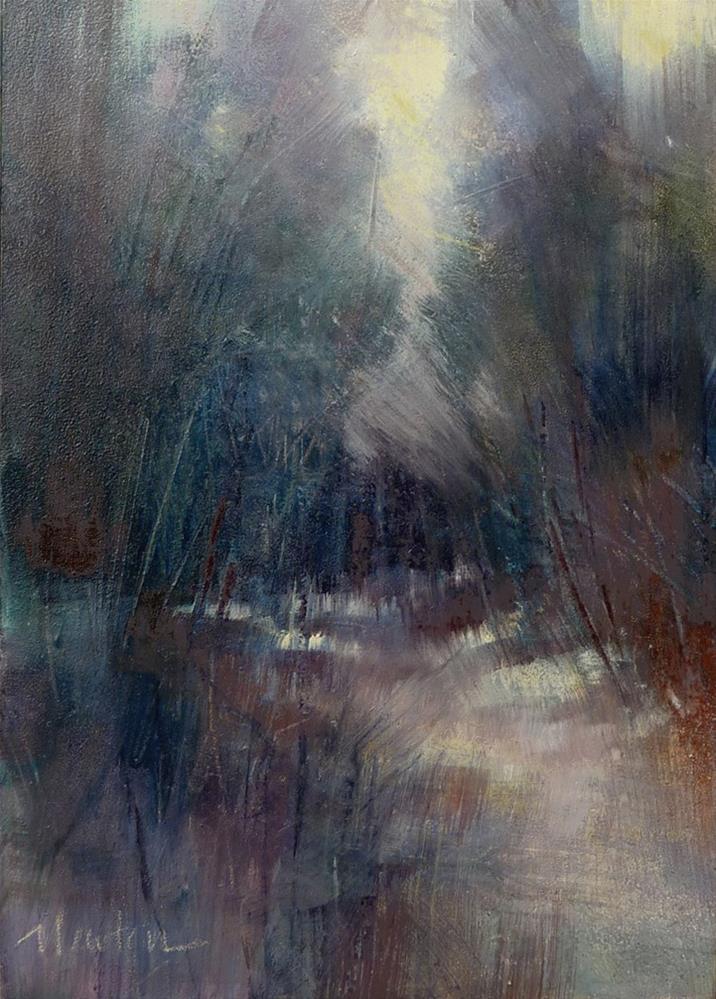 """Woodland"" original fine art by Barbara Benedetti Newton"