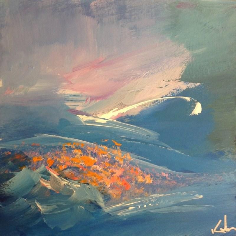 """Adagio"" original fine art by David Kuhn"