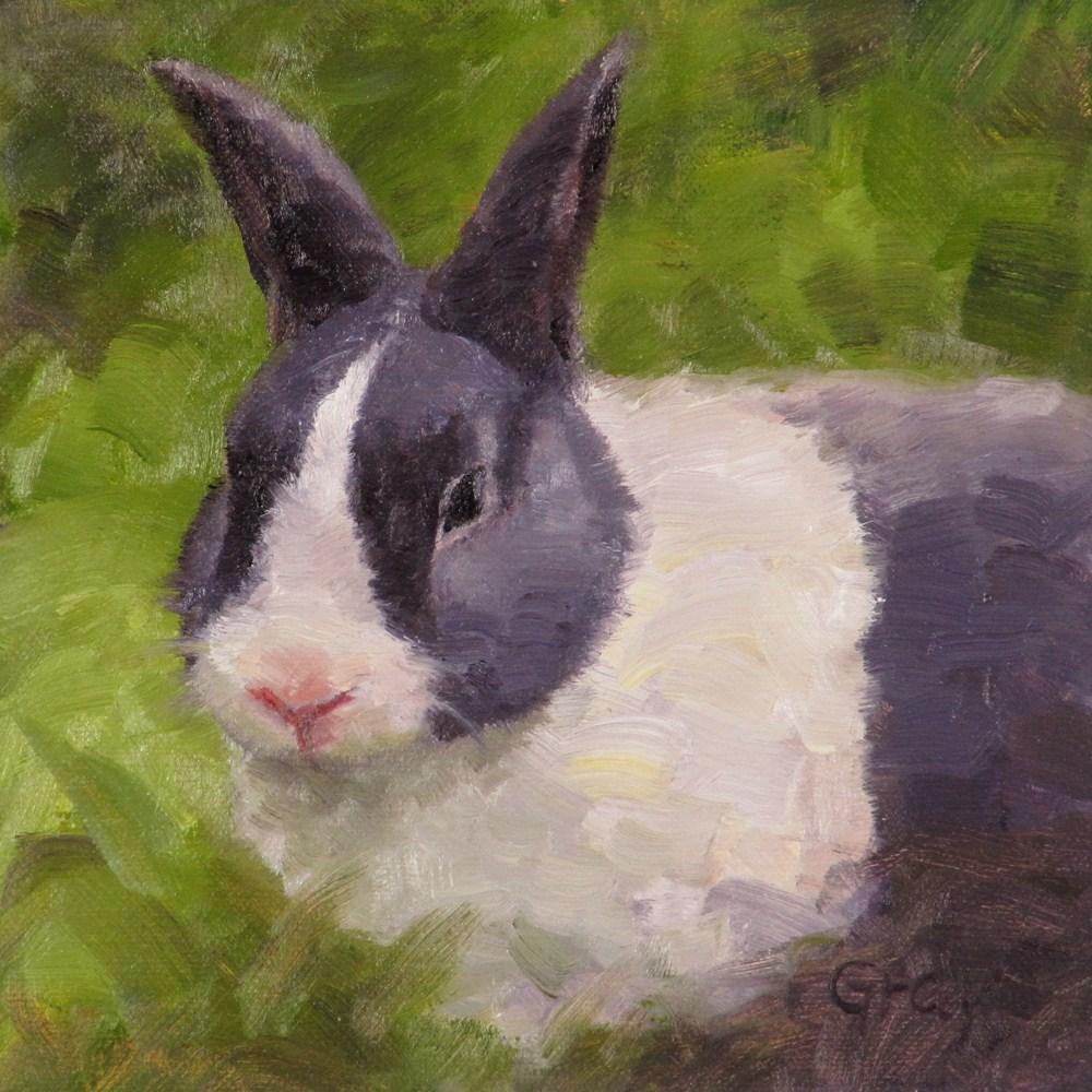 """Dutch"" original fine art by Naomi Gray"