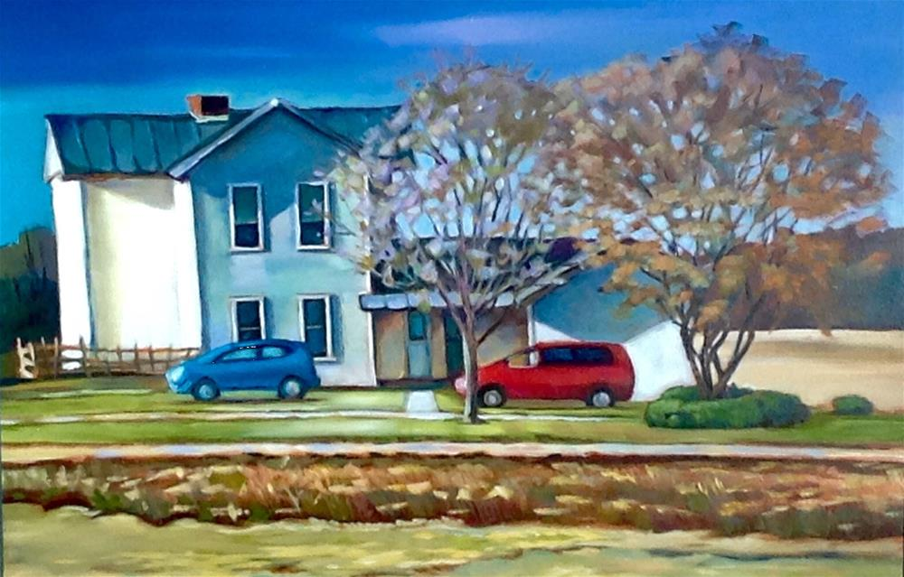 """Along US 30 Ohio"" original fine art by Susan Suraci"