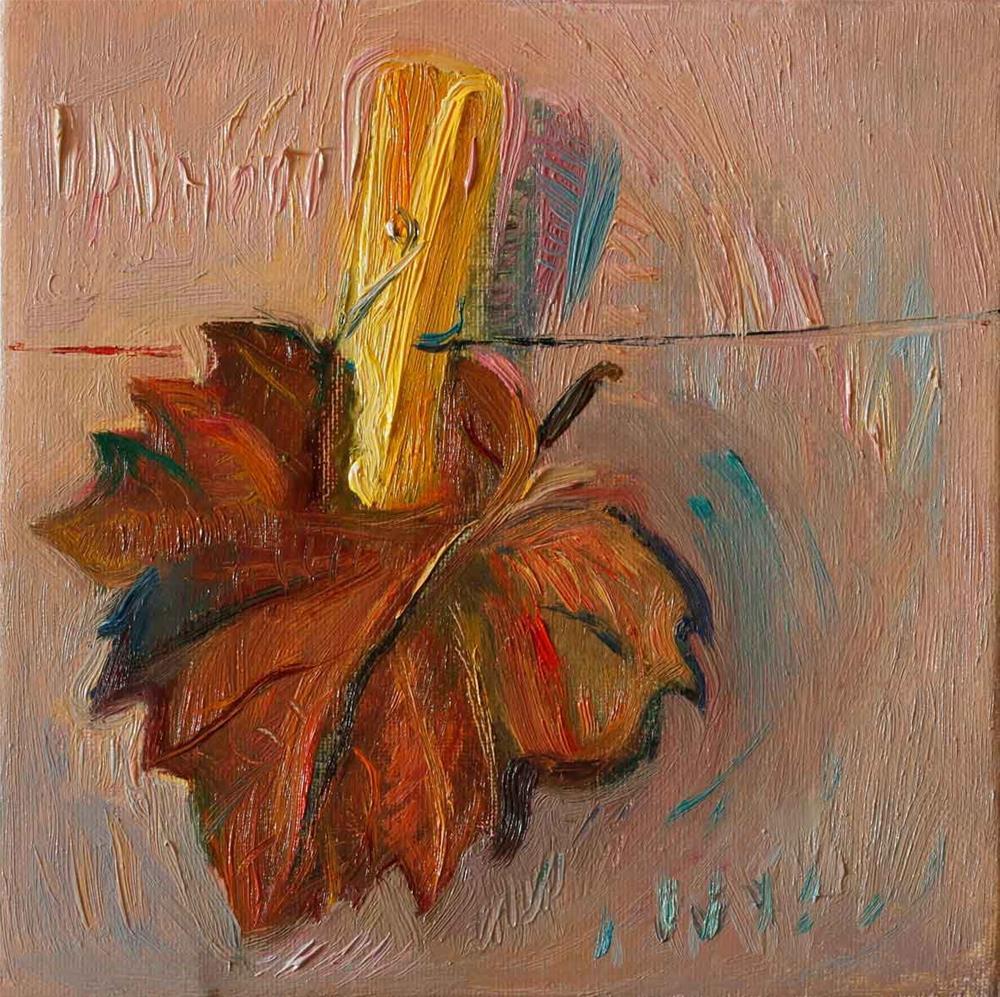 """Leaf"" original fine art by Anna  Fine Art"
