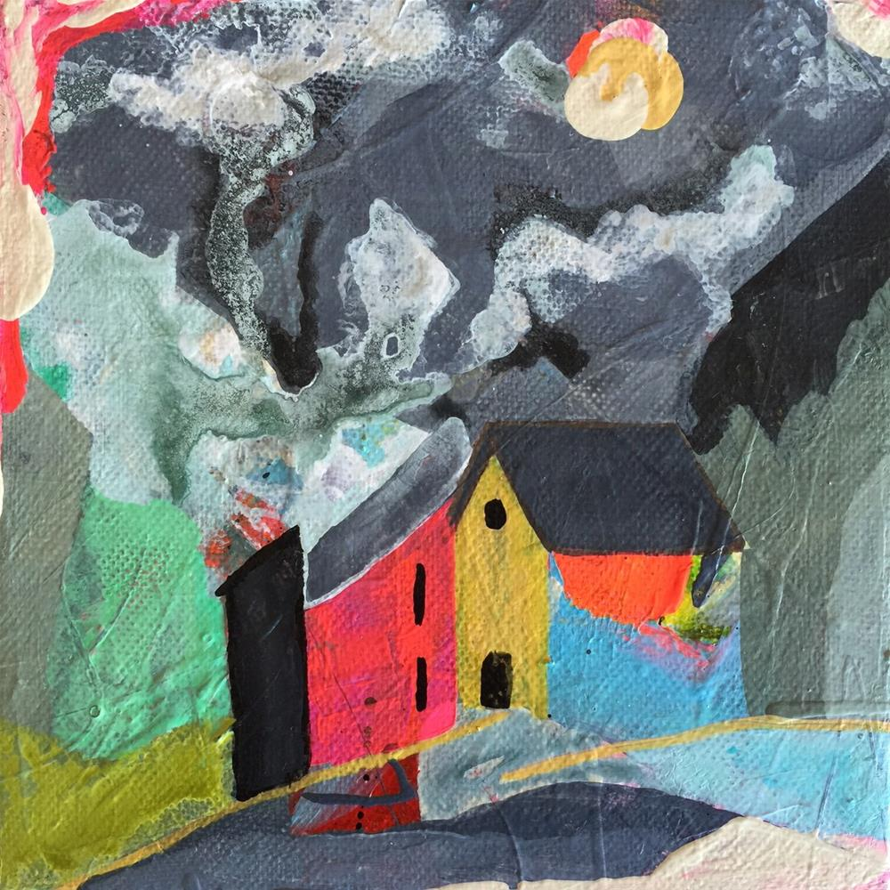 """94 Neighbors"" original fine art by Jenny Doh"