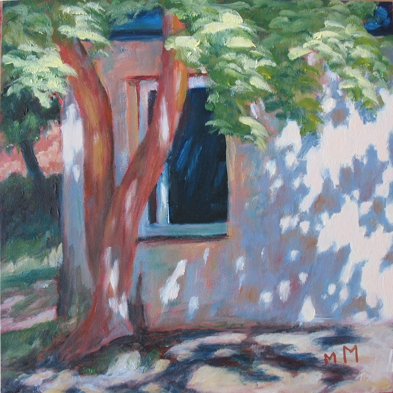 """In Vilnius"" original fine art by Melisa McCurley"