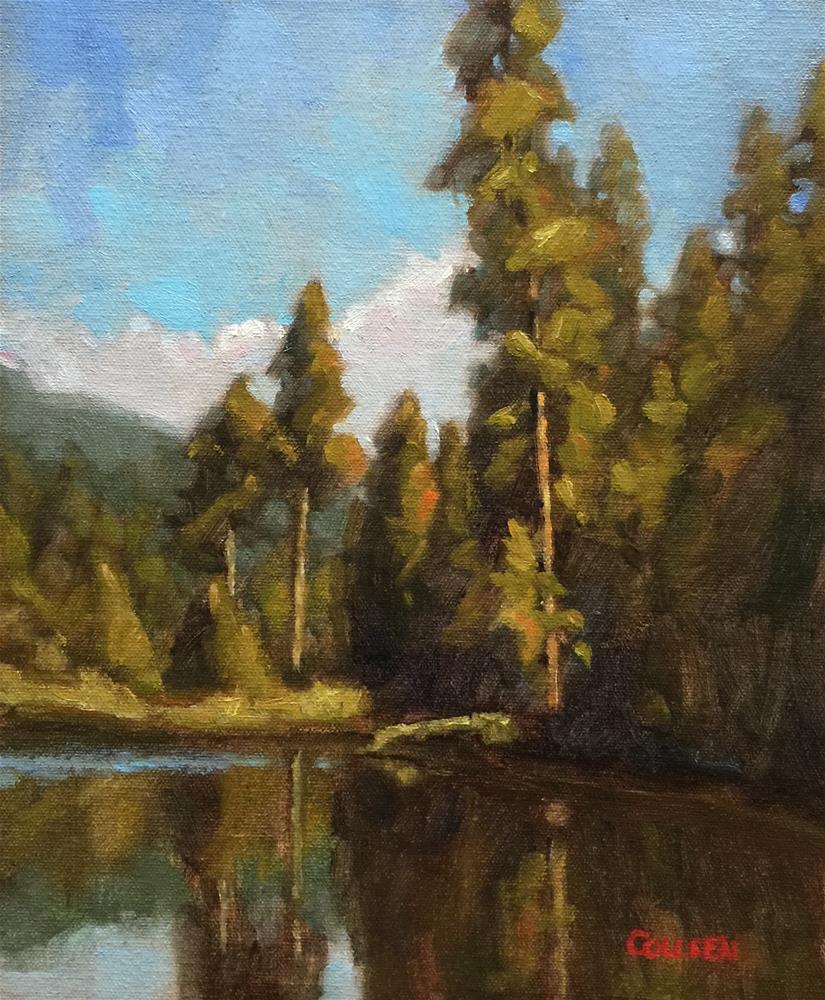 """Somewhere in Yosemite"" original fine art by Colleen Parker"
