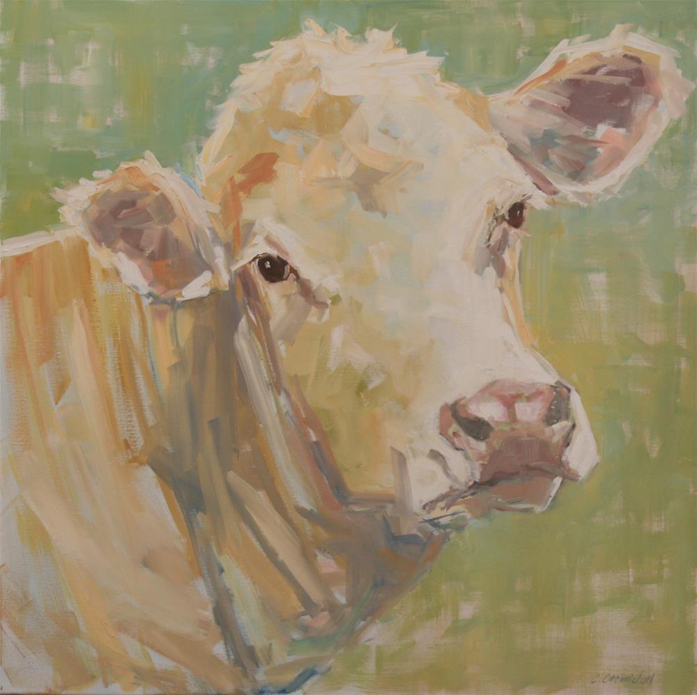 """sweet olive"" original fine art by Carol Carmichael"