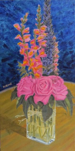 """""""Birthday Arrangement"""" original fine art by Richard Kiehn"""