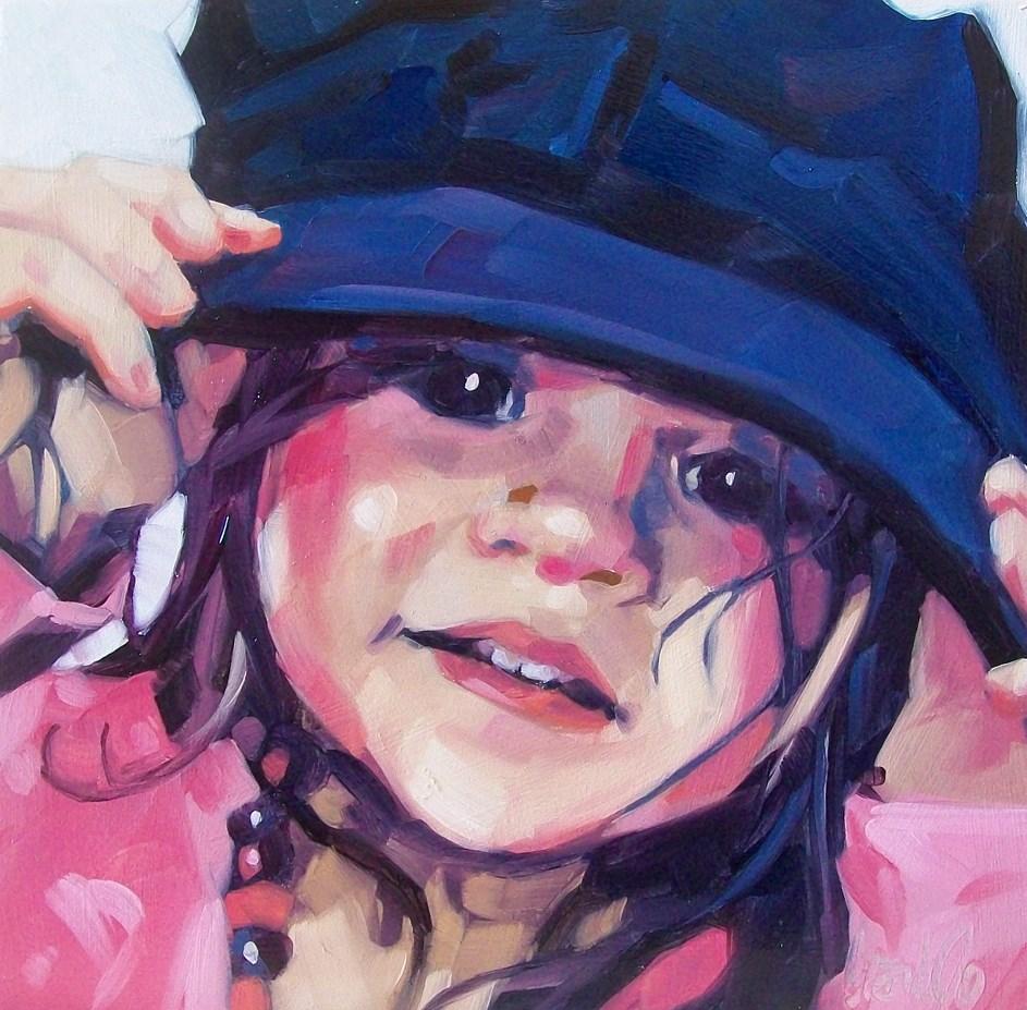 """""""Rosie"""" original fine art by Brandi Bowman"""