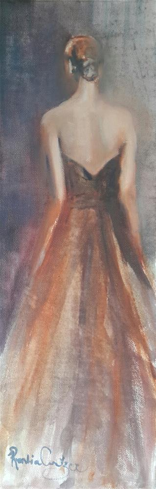 """Making an entrance"" original fine art by Rentia Coetzee"