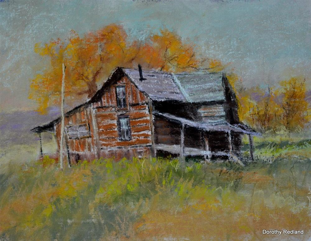 """The old Sealy place"" original fine art by Dorothy Redland"