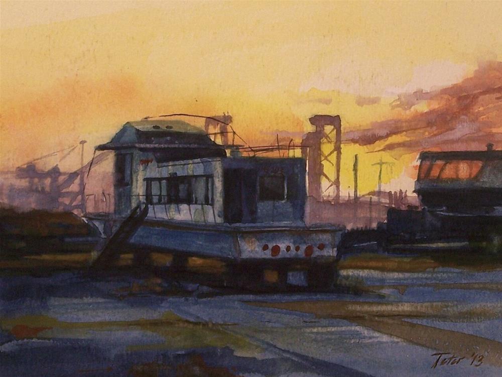 """Relic Sunrise"" original fine art by David J. Teter"