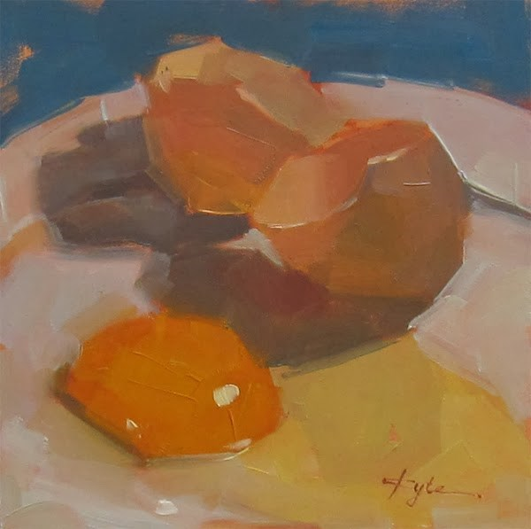 """30 Paintings in 30 Days. Day 20"" original fine art by Katia Kyte"