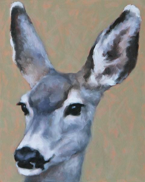 """Mule Deer Study"" original fine art by Sarah Becktel"