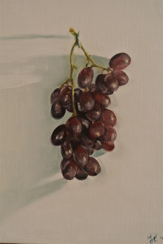 """Grapes"" original fine art by James Coates"