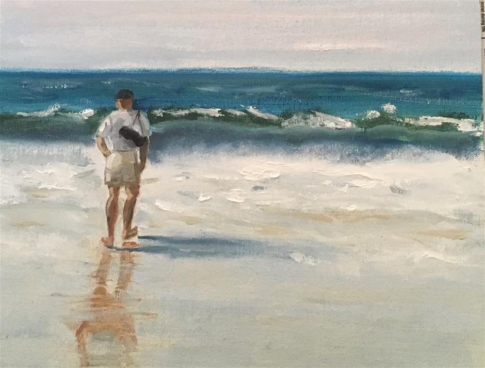 """West Coast "" original fine art by Patty Barnes"