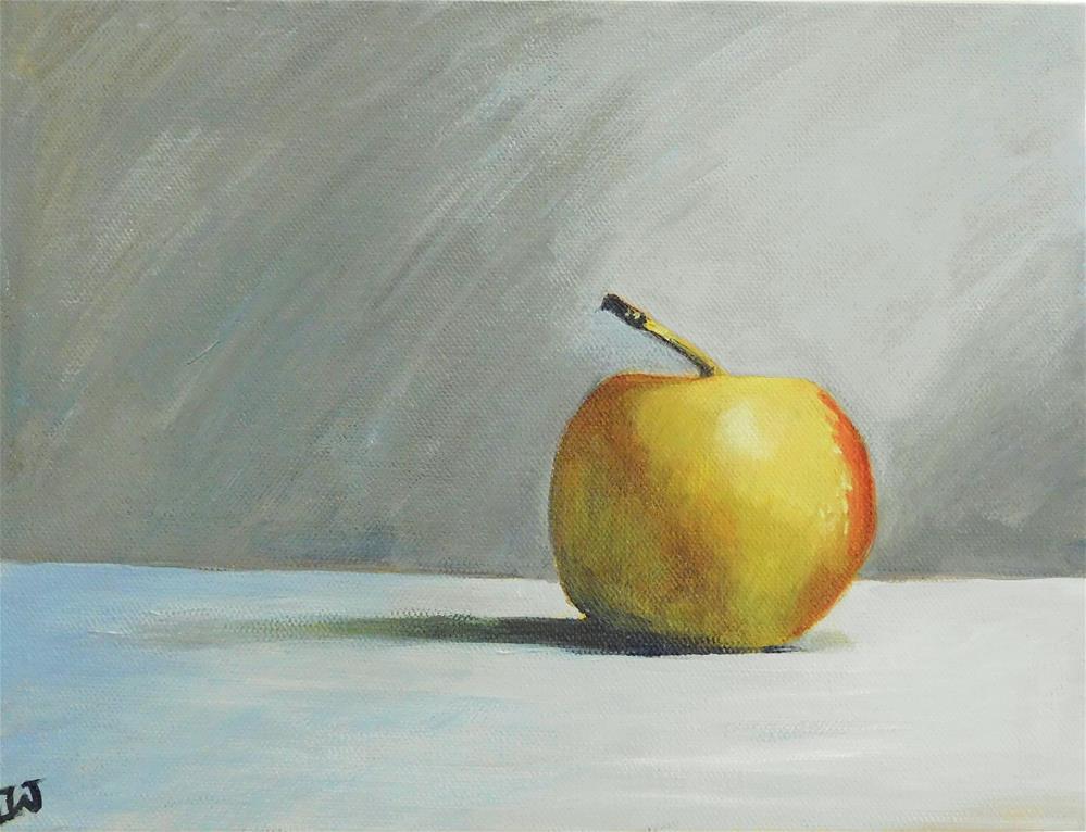 """Apple a Day"" original fine art by Daryl West"