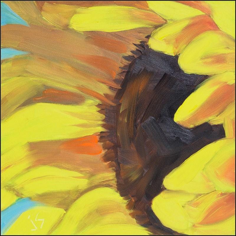 """""""Sunflower Challenge  Updated"""" original fine art by Johnna Schelling"""
