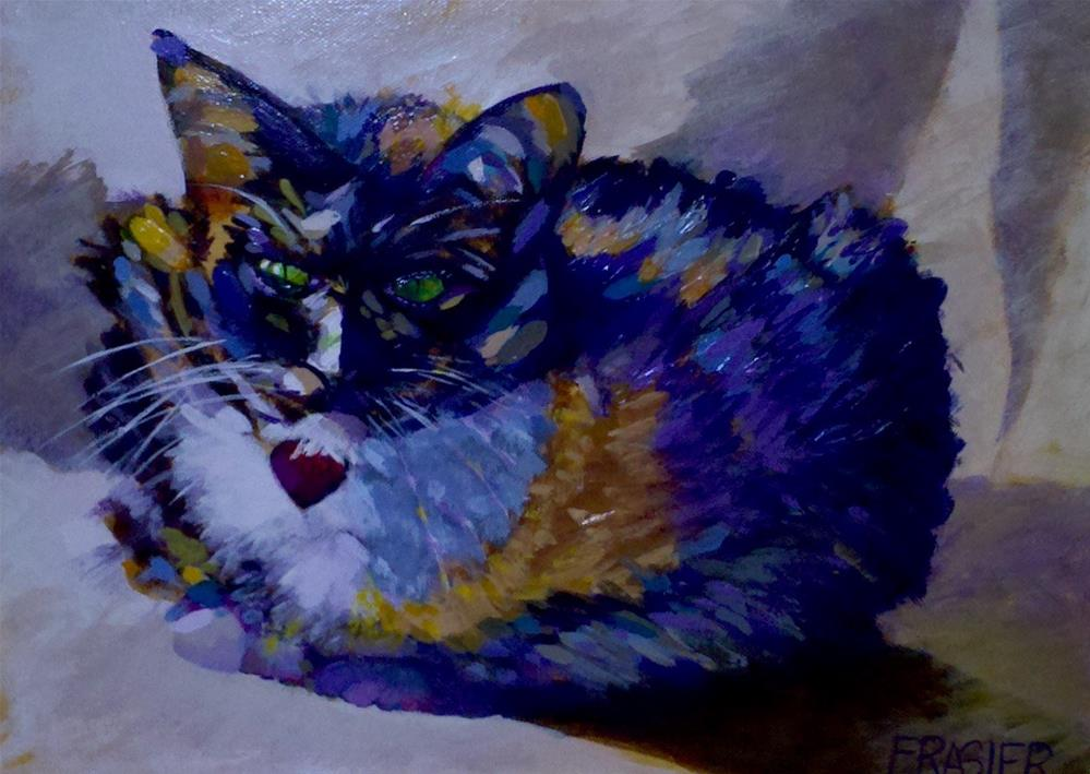 """Bella"" original fine art by Patti Frasier"
