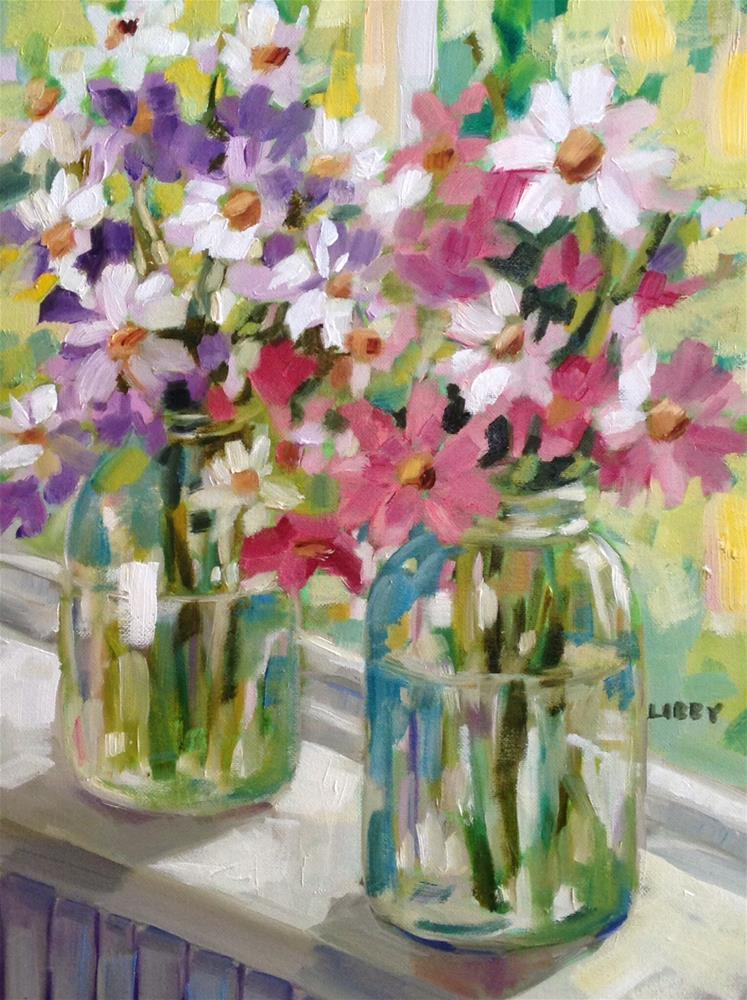 """March News"" original fine art by Libby Anderson"