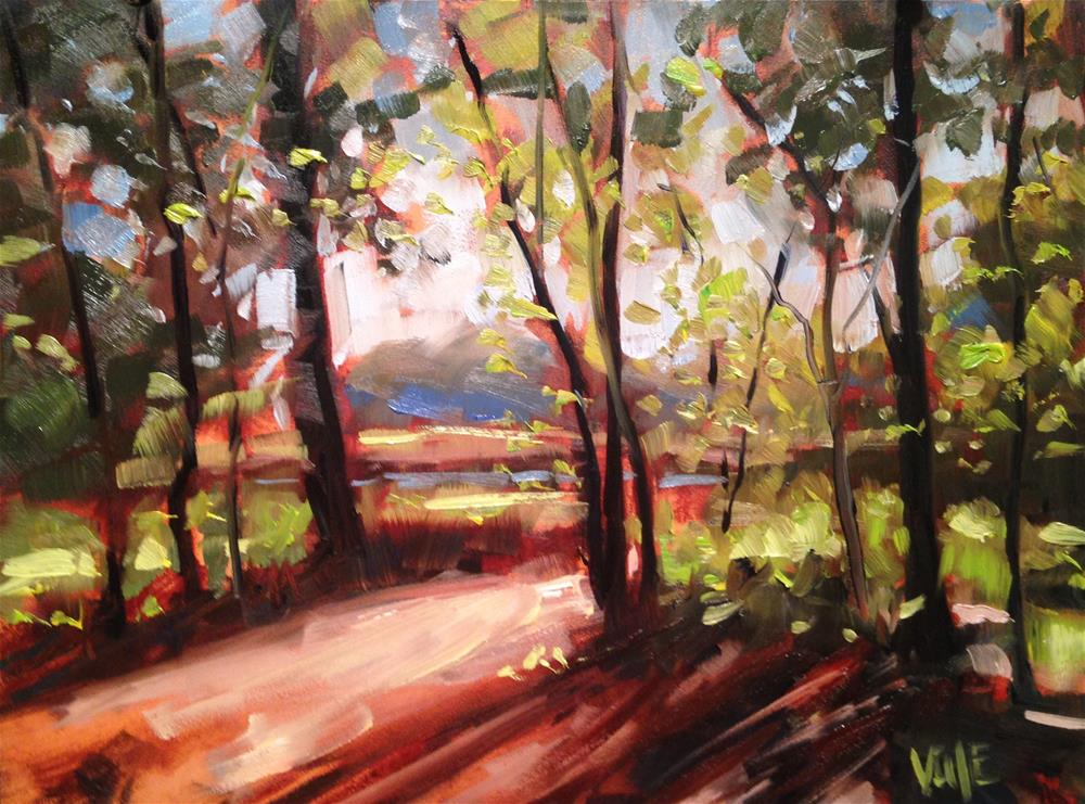 """#191 Minnesota Fall"" original fine art by Patty Voje"