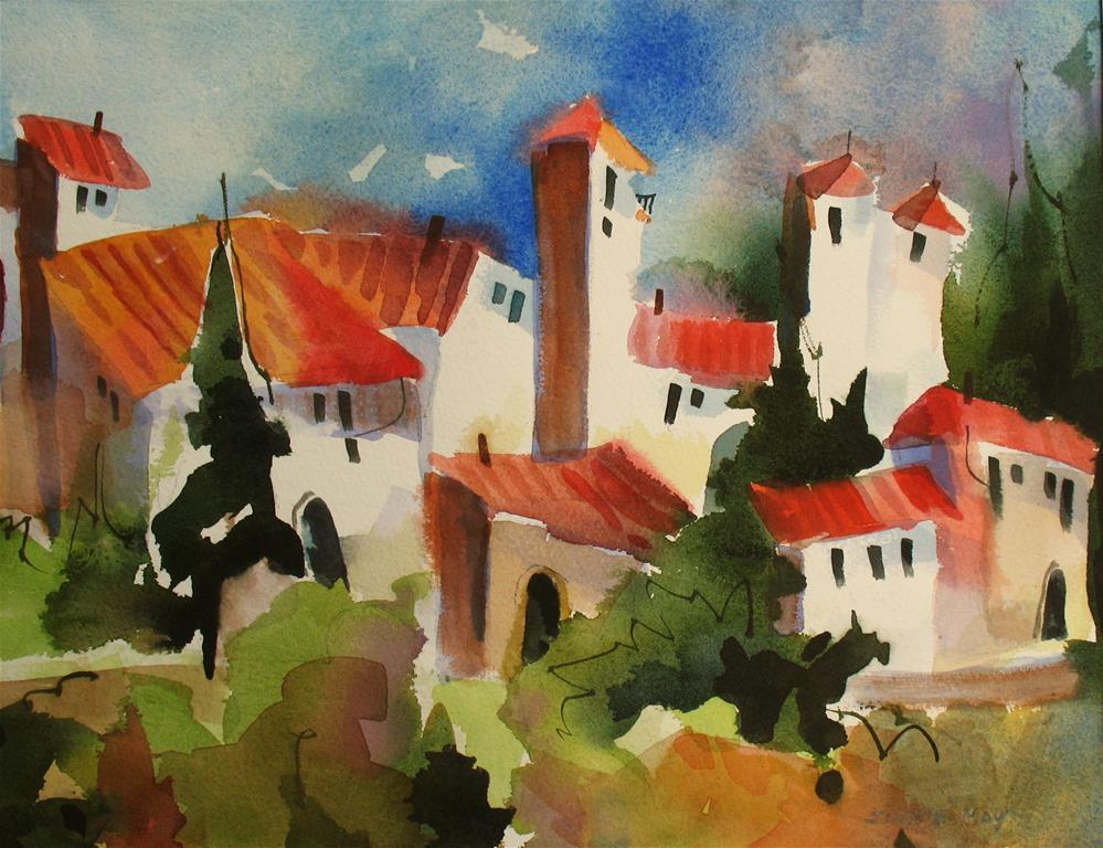 """Ronda, Spain"" original fine art by Jinnie May"