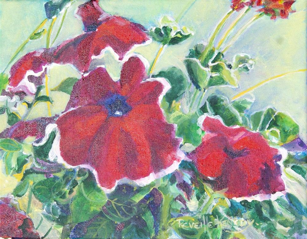"""Personally, Petunia"" original fine art by Reveille Kennedy"