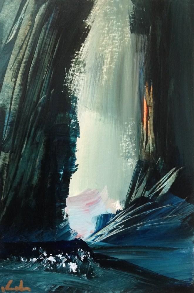 """Near at Hand"" original fine art by David Kuhn"