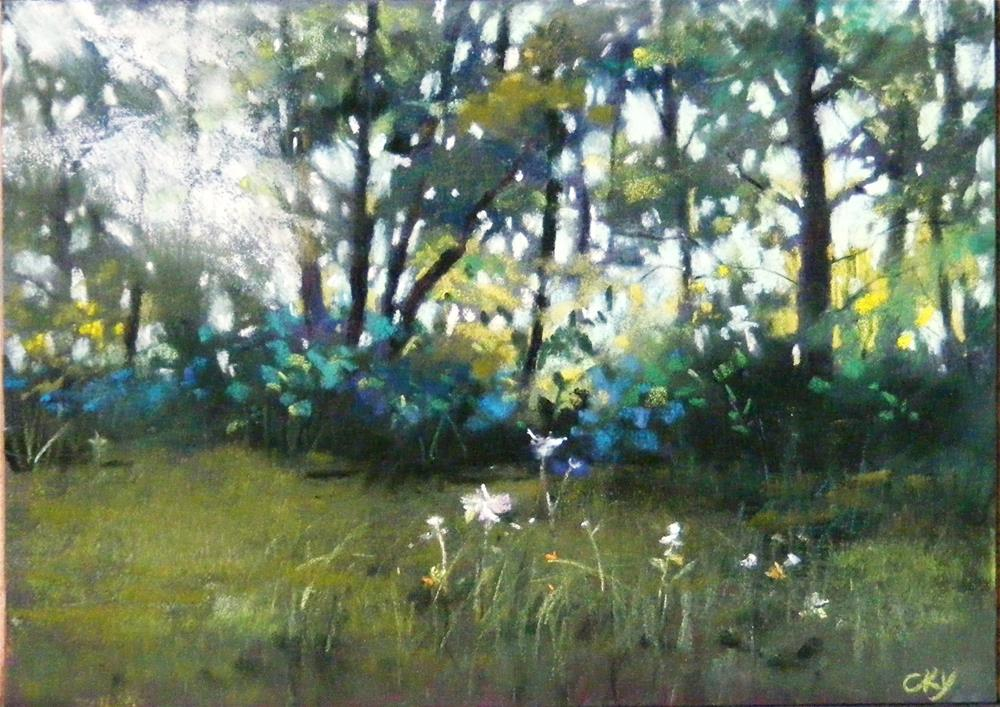"""Morning Light"" original fine art by Celine K.  Yong"