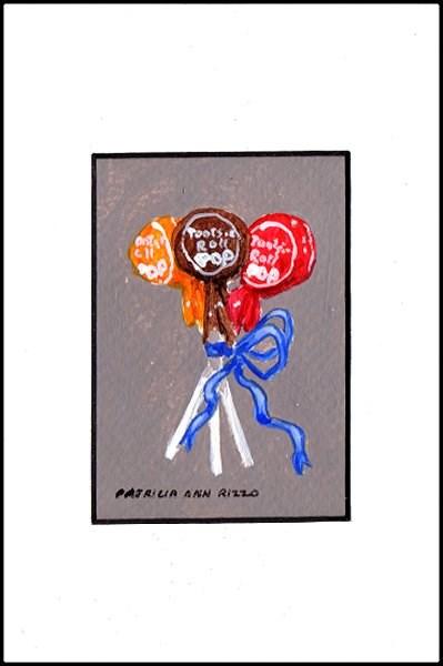 """""""Luscious Lollipops"""" original fine art by Patricia Ann Rizzo"""
