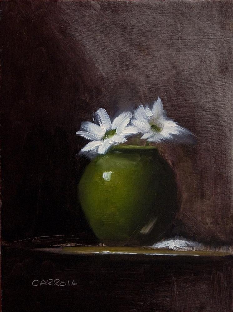 Chrysanthemums original fine art by Neil Carroll